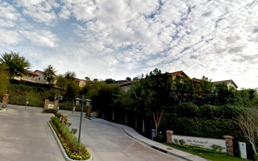 The Colony Gated Community in Calabasas