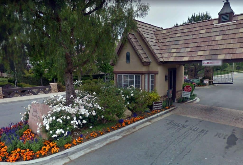 Long Canyon Gated Community in Simi Valley