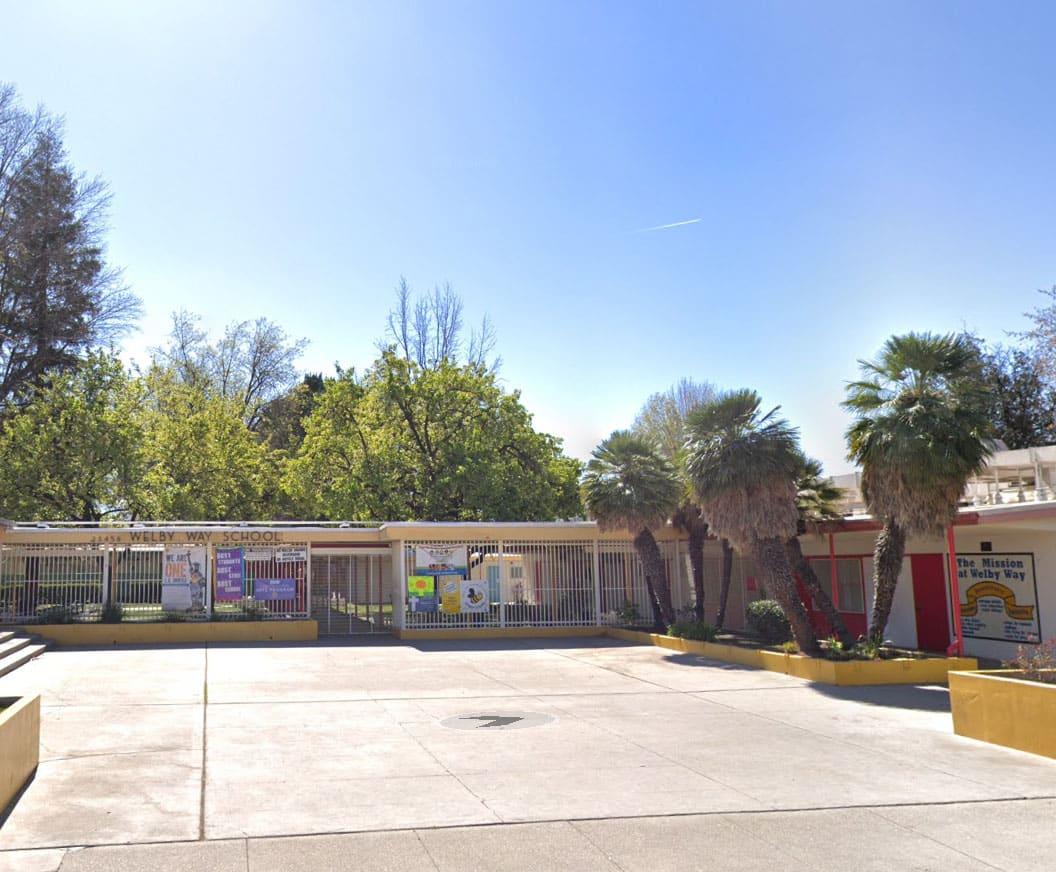 Welby Way Elementary School in West Hills CA