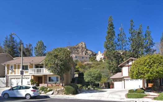 Castle Peak in West Hills
