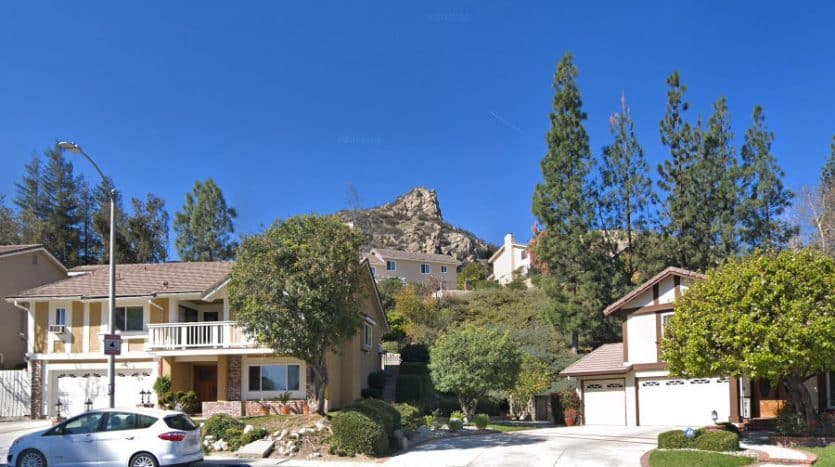 Castle Peak in West Hills