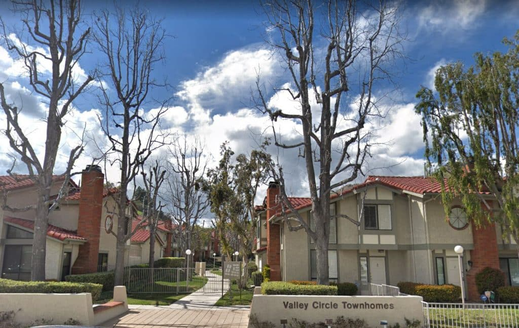 Valley Circle Townhomes in West Hills