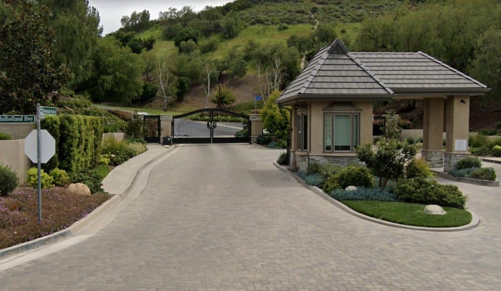 Mountain Park Calabasas Gated Community