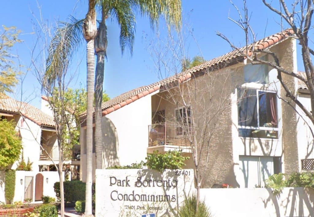 Park Sorrento Condominiums in Calabasas