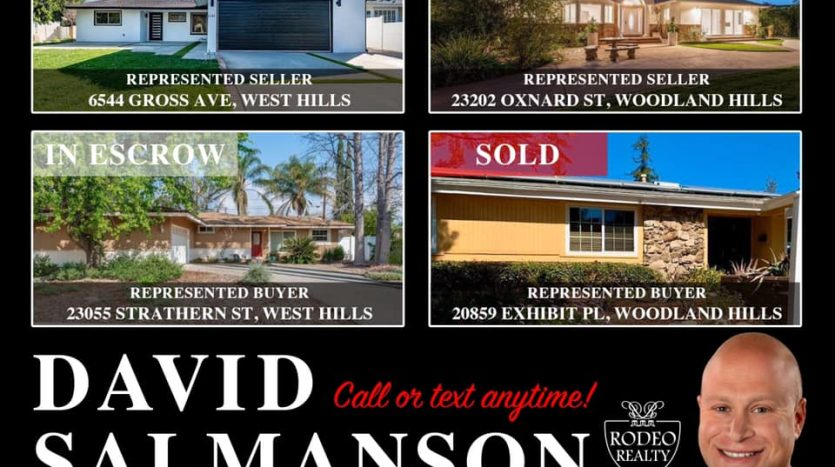 March 2020 Calabasas West Hills and Woodland Hills homes for sale