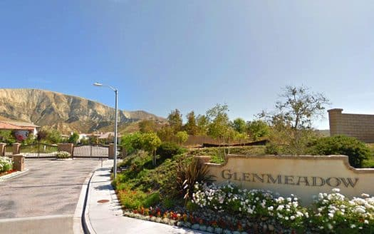 Glenmeadow gated community in Simi Valley