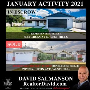 January Real Estate Update for West Hills