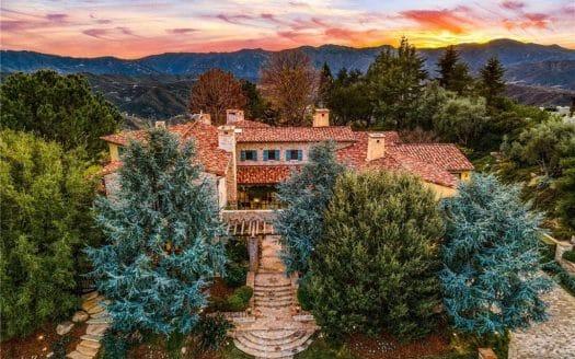 Calabasas Tuscan Villa