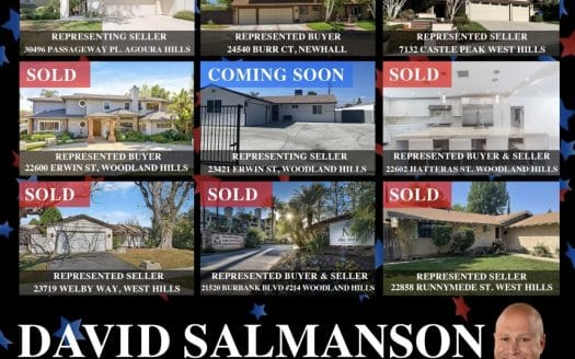 May 2021 Homes sales in West Hills, Woodland Hills and Calabasas