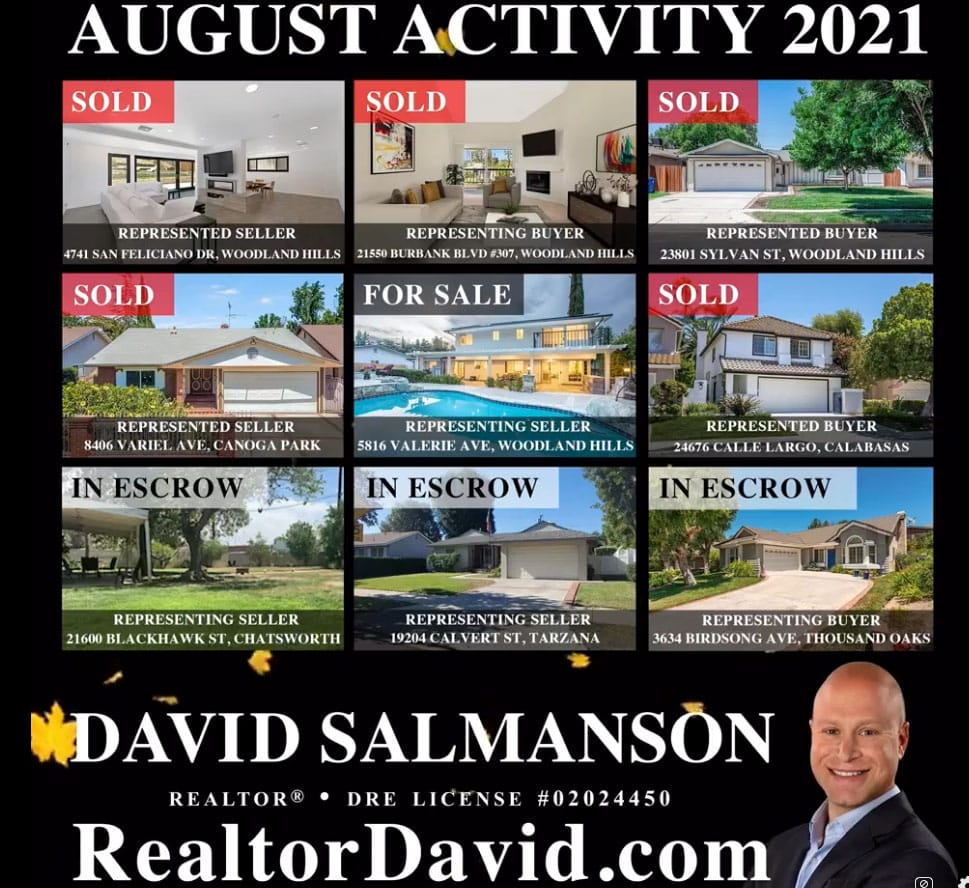 Calabasas and West Hills Real Estate Updates