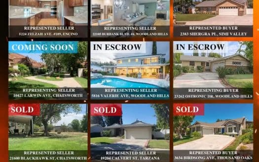 Calabasas woodland hills and west hills home sales